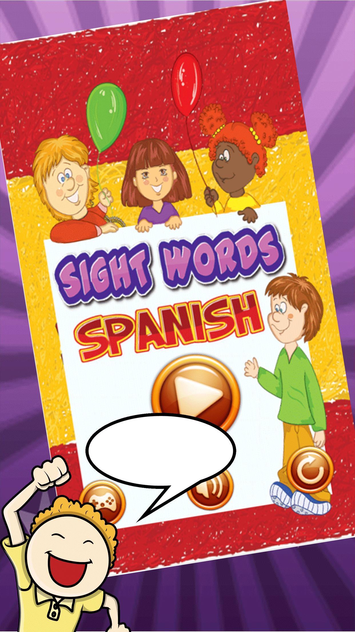 Semua Sight Kelas Kata Spanyol For Android APK Download