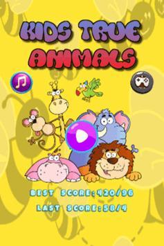 Kids True Match Animals poster