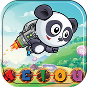 Baby Panda Word Cookies Connect Search The Word icon