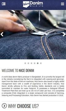Nice Denim Mills Limited apk screenshot