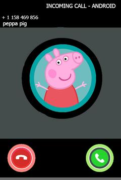 Fake call from pepa prank pig poster