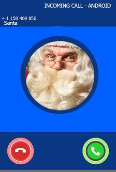 Fake Call From Santa Prank Clause poster