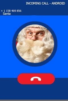 Fake Call From Santa Prank Clause screenshot 1