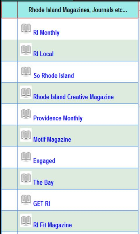 Rhode Island Daily Newspapers