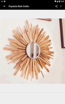 Popsicle Stick Crafts - FREE poster