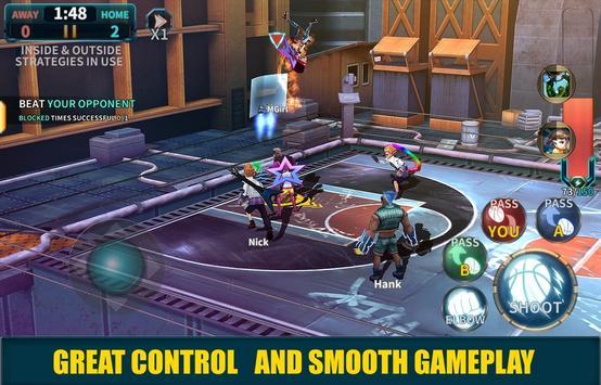 Basketball Gangs 2 apk screenshot