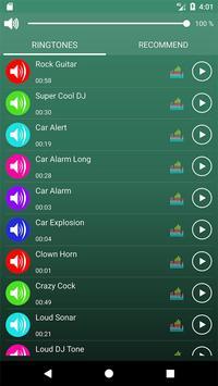 Loud Ringtones screenshot 1