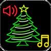 Kerstbeltonen en live achtergronden-icoon