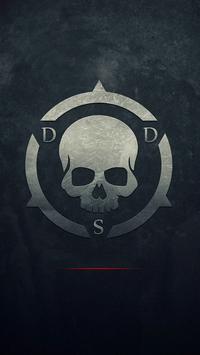 Black Skull ScreenLock apk screenshot