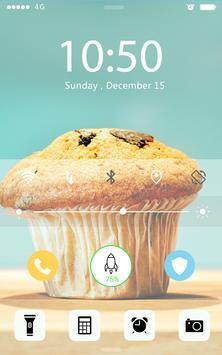 Screen Lock Cake apk screenshot