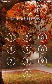 Screen Lock Deep Forest apk screenshot