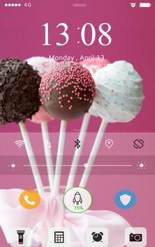Screen Lock Food Wallpaper apk screenshot
