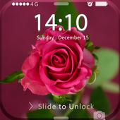 Screen Lock Flower icon