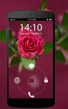 Screen Lock Flower apk screenshot