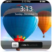 Hot Air Balloon ScreenLock icon