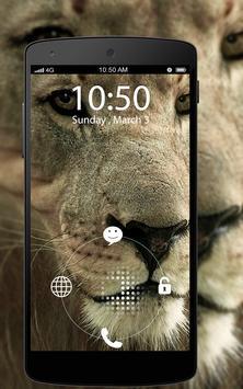 Screen Lock Lion apk screenshot
