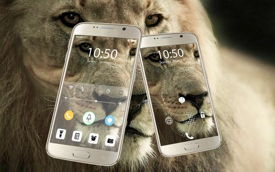 Screen Lock Lion poster