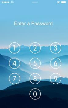 Screen Lock Mountain apk screenshot