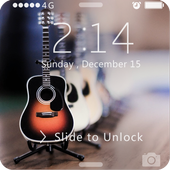 Screen Lock Rock Music icon
