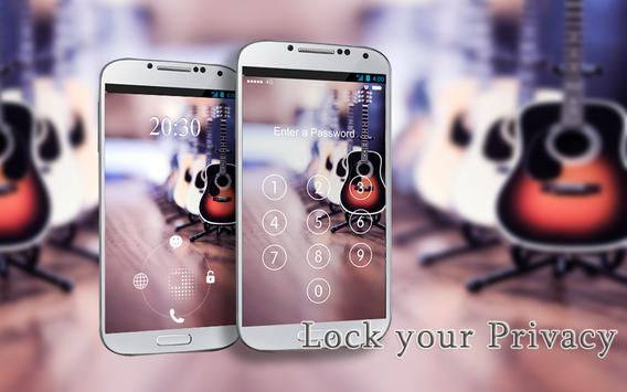 Screen Lock Rock Music apk screenshot