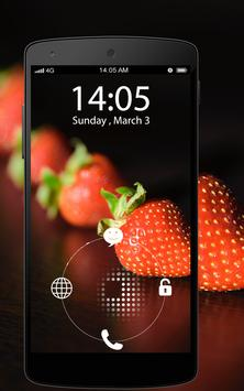 Screen Lock Sweet Fruits screenshot 6