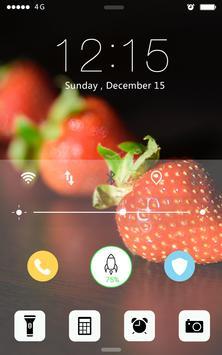 Screen Lock Sweet Fruits screenshot 1
