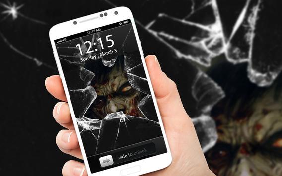 Zombie Terror ScreenLock poster