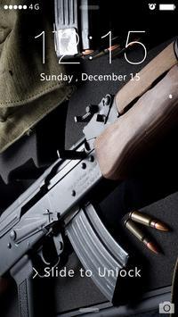 AK47 Lock Screen apk screenshot