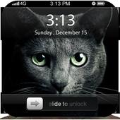 Black Cat ScreenLock icon