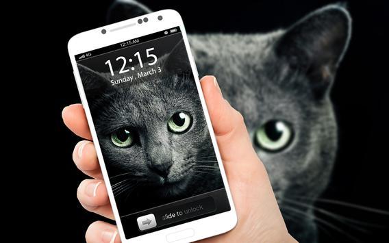 Black Cat ScreenLock poster