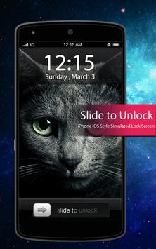 Black Cat ScreenLock apk screenshot