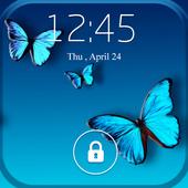 Screen Lock Butterfly icon