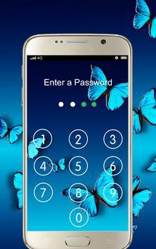 Screen Lock Butterfly apk screenshot
