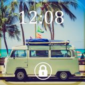 Screen Lock Cars Wallpaper icon