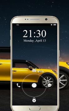 Screen Lock Cars Wallpaper apk screenshot