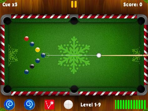 Pool Billiards Master Xmas apk screenshot