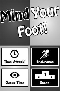 Mind Your Foot poster