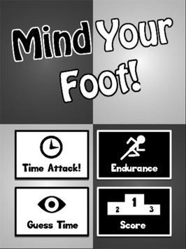 Mind Your Foot apk screenshot