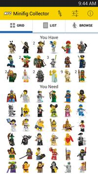 Minifig Collector for LEGO® poster