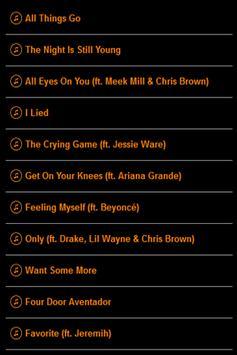Nicki Minaj Lyrics poster