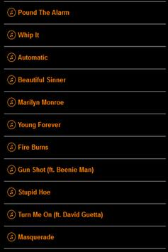 Nicki Minaj Lyrics screenshot 1