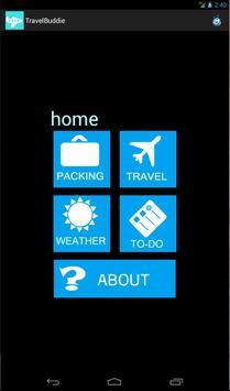 TravelBuddie apk screenshot