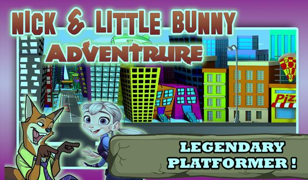 Nick & Little Bunny Adventure poster