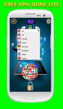 VPN DONE LITE apk screenshot
