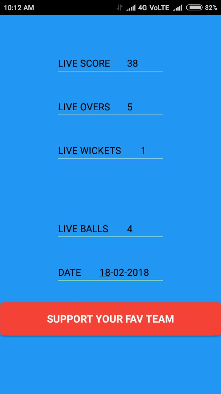 IPL LIVE SCORES 2018 poster