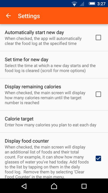 two tap calorie counter for android apk download