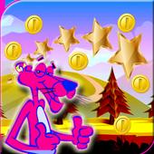 Subway Pink Panter icon