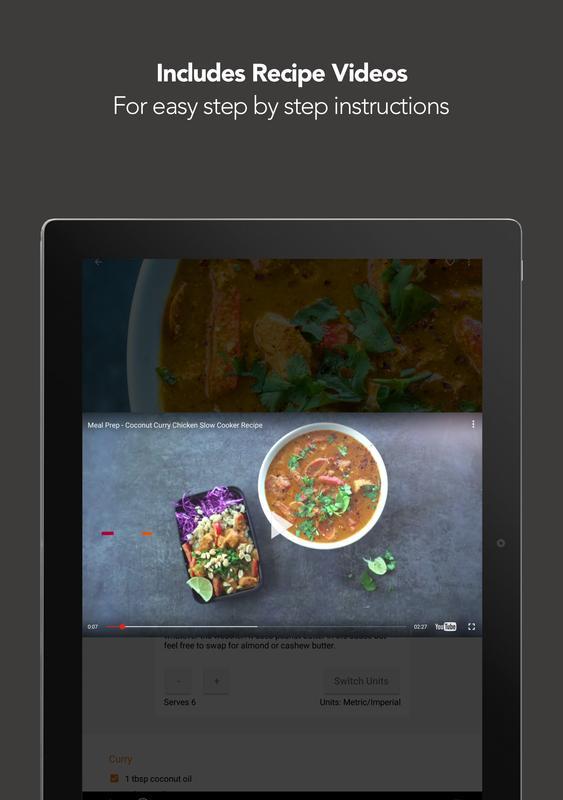 Fitmencook recetas saludables descarga apk gratis comer y beber fitmencook recetas saludables captura de pantalla de la apk forumfinder Gallery