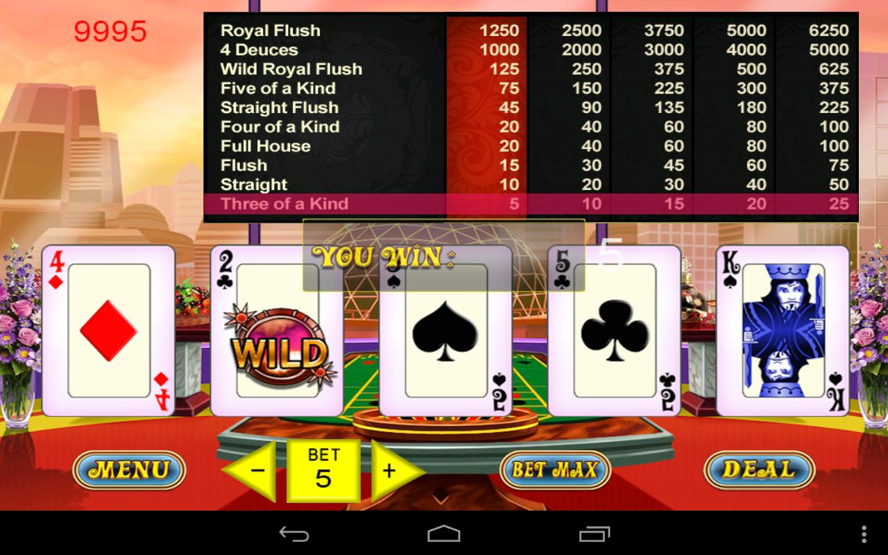 Video Poker Master - 6 in 1! for Android - APK Download