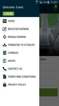 Etisalat Domains apk screenshot